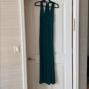 Issa London green gown